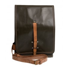 Cold War Leather Messenger Bag