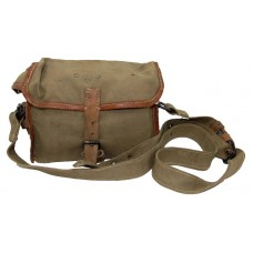 Small First Aid Kit in Canvas & Leather Shoulder B