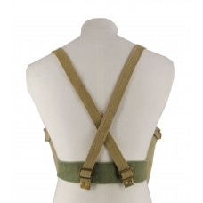 British Type Canvas Utility Straps