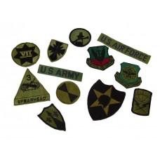 USA Rank Badges