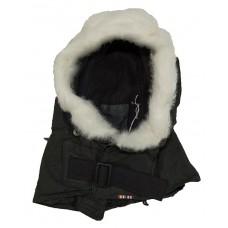 Fur Trimmed Parka Hood