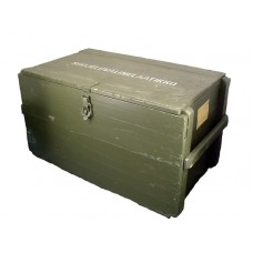 Wooden Army Storage Box