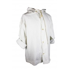 Sweedish White Poncho