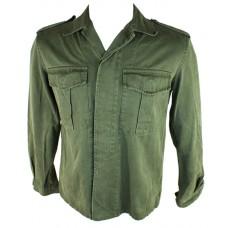 Vintage 100% Cotton Epaulette Shirt