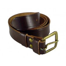 Czech Leather Belt