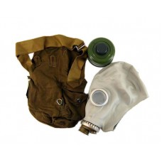 Russian Gas Mask in Bag