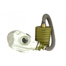 Russian Gas Mask with Hose